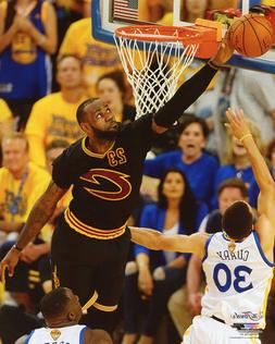 2016 Champions LEBRON JAMES Glossy 8x10 Photo Print Clevelan