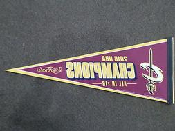 2016 CLEVELAND CAVALIERS NBA CHAMPIONS THE FINALS PENNANT