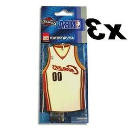 3x NBA Cleveland Cavaliers Jersey Air Fresheners - Outdoor F