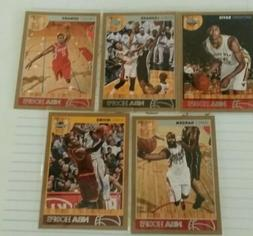5)Lots Kyrie Irving, D. Howard, J. Harden 2013-14 NBA Hoops