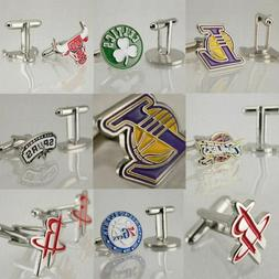 American Basketball Fans Mens Cufflinks Boys Gifts Sport Tea