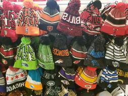 Authentic 47 brand NFL and NBA WINTER HATS Cavaliers,Bulls,e