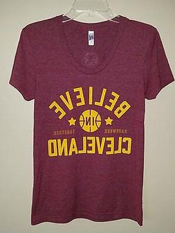 BELIEVE IN CLEVELAND Cavaliers T-Shirt Cleveland Clothing Co