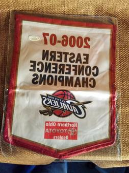 Cleveland Cavaliers Championship 2006-2007 mini Banner