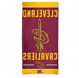 "CLEVELAND CAVALIERS 30"" X 60"" BEACH TOWEL NEW & OFFICIALLY L"