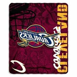 "Cleveland Cavaliers 50"" x 60"" Painted Fleece Throw Blanket b"