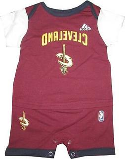 Cleveland Cavaliers Baby Romper Clothes Shirt