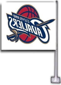 CLEVELAND CAVALIERS CAR FLAGS 2 SIDED 12X18 HI-WAY STRONG