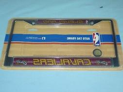 Cleveland Cavaliers  CHROME Auto Tag LICENSE PLATE FRAME  by