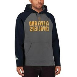adidas Cleveland Cavaliers Gray/Navy 2016 Tip-Off Pullover H