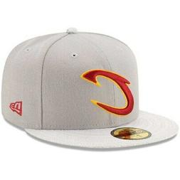 Cleveland Cavaliers New Era Visor Fresh 59FIFTY Fitted Hat -