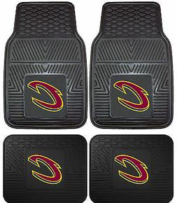 Cleveland Cavaliers Heavy Duty Floor Mats 2 & 4 pc Sets for