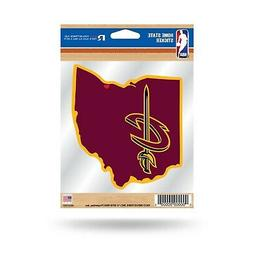 Cleveland Cavaliers Home State Sticker Die Cut Decal Emblem