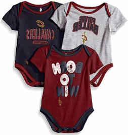 Cleveland Cavaliers Infant & Toddler  Little Fan 3 Pack Cree