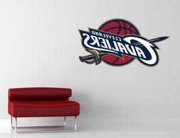 Cleveland Cavaliers NBA Logo Wall Decal Vinyl Sticker Art De