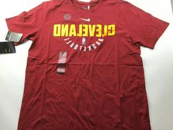 Cleveland Cavaliers Nike NBA Men's Dri-Fit Cotton T-Shirt si
