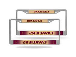 Cleveland Cavaliers NBA  Chrome Metal License Plate Frames