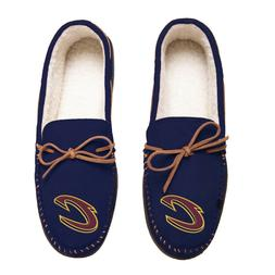 Cleveland Cavaliers Team Color NBA Men's Moccasins Slippers