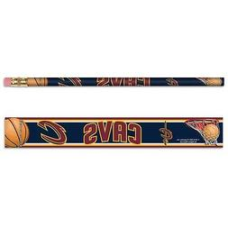 CLEVELAND CAVALIERS TEAM LOGO 6-PACK PENCILS BRAND NEW FREE