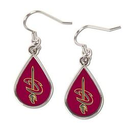 Cleveland Cavaliers Tear Drop Dangle Earrings by Wincraft