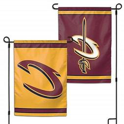 Cleveland Cavaliers WC Garden Flag Premium 2-Sided Outdoor B