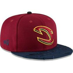 New Era Cleveland Cavaliers Wine Visor Script 59FIFTY Fitted