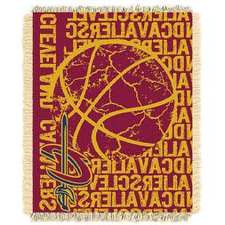 Cleveland Cavaliers Woven Jacquard Tapestry Throw Blanket Sp