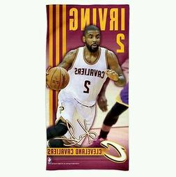 "KYRIE IRVING CLEVELAND CAVALIERS SPECTRA BEACH TOWEL 30""X60"""
