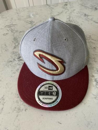 9fifty cleveland cavaliers nba gray burgundy gold