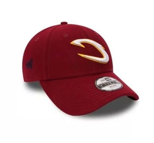 9forty cleveland cavaliers the league strap back