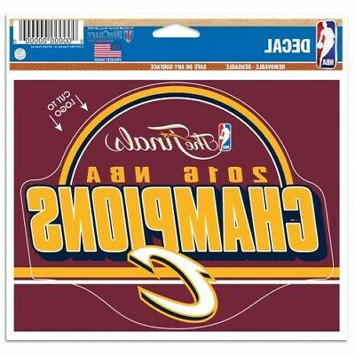 cleveland cavaliers 2016 champions removable reusable multi