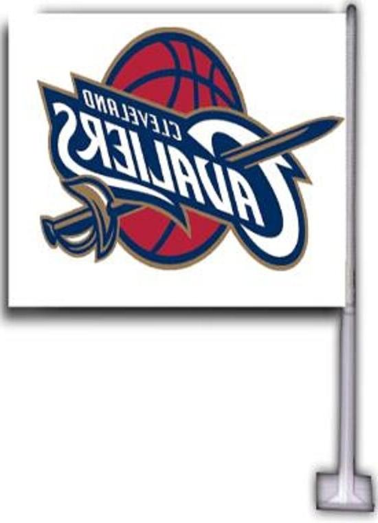 cleveland cavaliers car flags 2 sided 12x18