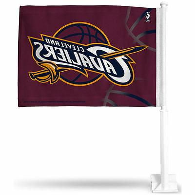 Cleveland Cavaliers Maroon Car Auto Window Flag