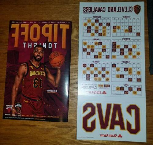 cleveland cavaliers sga 2017 2018 magnet schedule