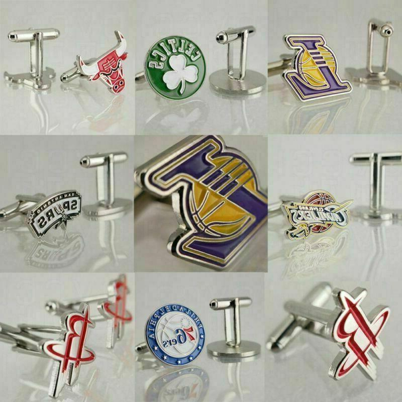 men s american basketball fans cufflinks boys