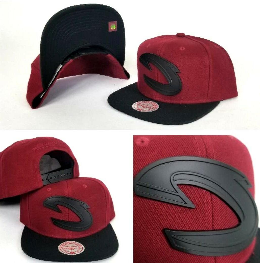 mitchell and ness cleveland cavaliers burgundy black