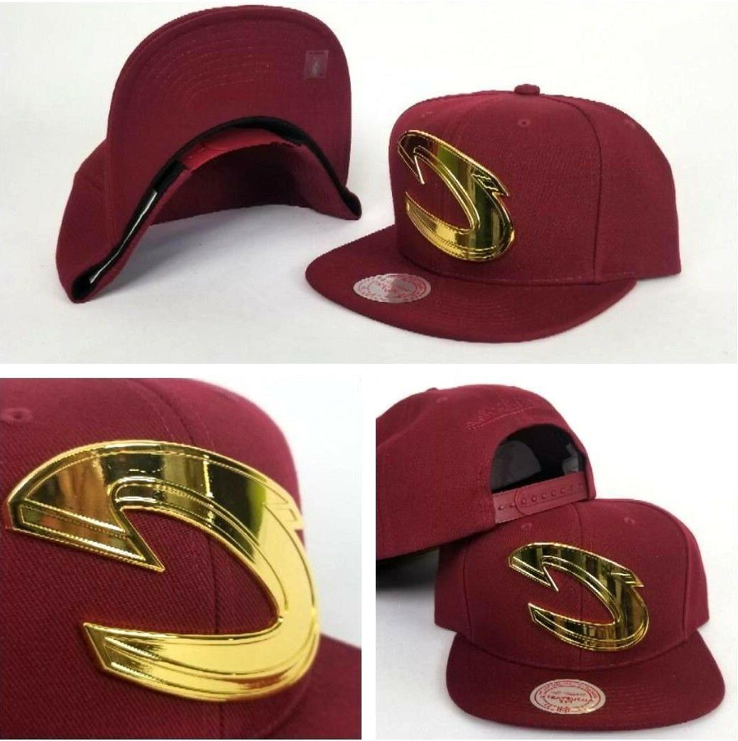 mitchell and ness cleveland cavaliers gold metal