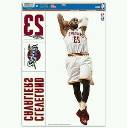LEBRON JAMES CLEVELAND CAVALIERS MULTI-USE DECALS 11x17 SHEE