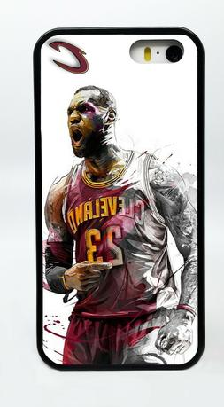 LEBRON JAMES CLEVELAND CAVALIERS PHONE CASE FOR IPHONE X 8 7