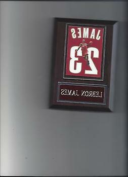 LEBRON JAMES JERSEY PLAQUE BASKETBALL CLEVELAND CAVALIERS NB