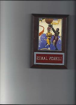 LEBRON JAMES PLAQUE BASKETBALL CLEVELAND CAVALIERS NBA GAME