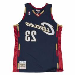 Mens Mitchell & Ness NBA LeBron James Authentic Jersey 2008