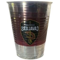 NBA Cleveland Cavaliers 16oz PLASTIC CUPS  ~ Birthday Party