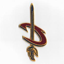 NBA Cleveland Cavaliers Iron on Patches Embroidered Badge Pa