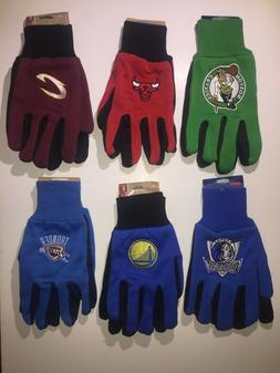 NBA SPORT UTILITY WORK PLAY BASKETBALL GLOVES NO SLIP GRIP A
