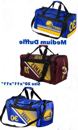 "NBA Team Duffle Bag Sports Gym Travel-Medium Size 20""x11""x11"