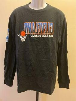 New Cleveland Cavaliers Mens Size L Black Mitchell & Ness Sh