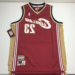 NEW Lebron James Mitchell & Ness Cleveland Cavaliers Throwba