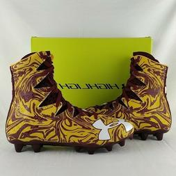 NEW UNDER ARMOUR UA HIGHLIGHT LUX MC FOOTBALL CLEATS CLEVELA