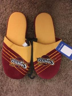 NWT Cleveland Cavaliers Slide Slippers Mens Size XL 13 - 14